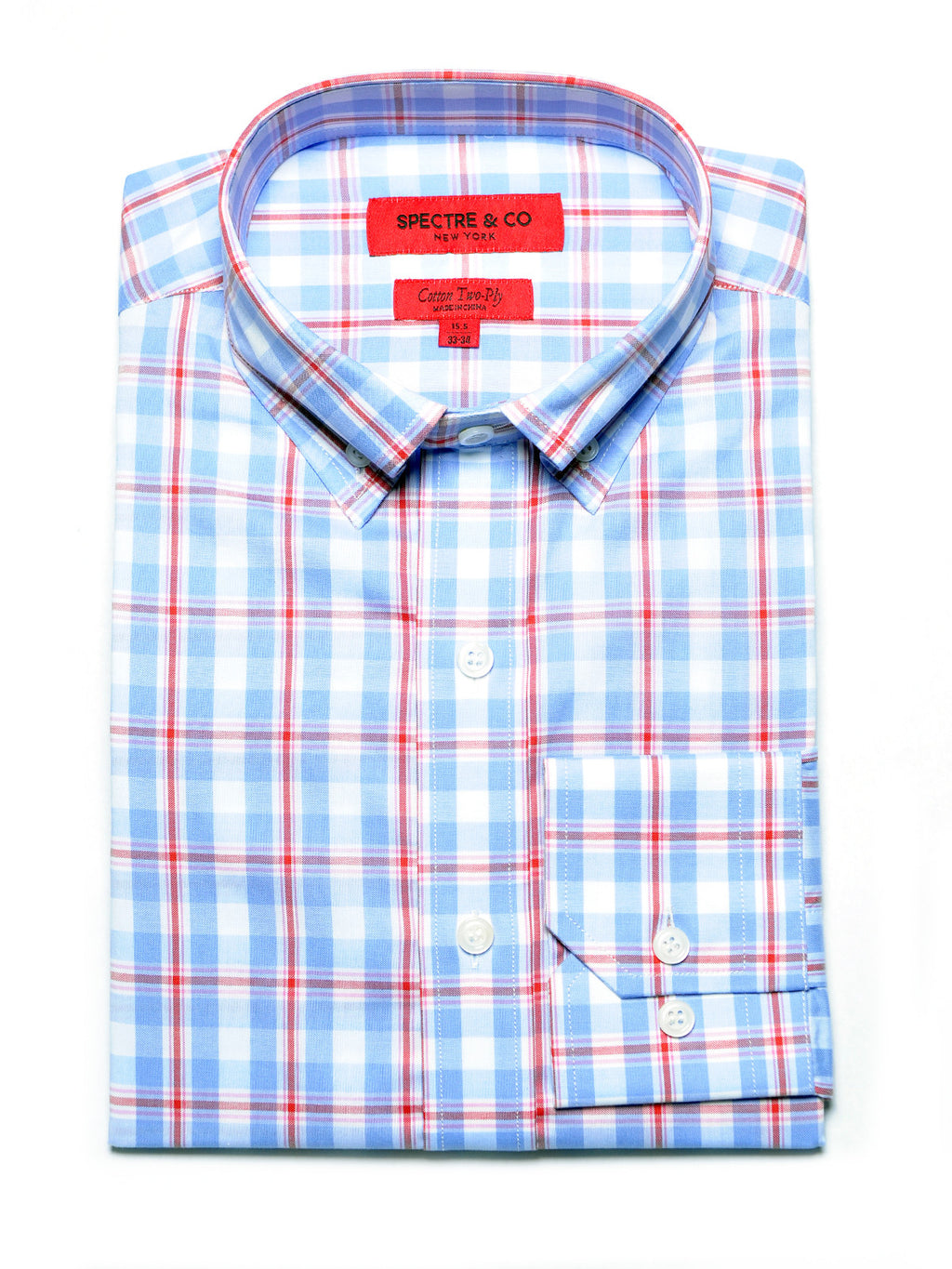 Whitmore Plaid Dress Shirt