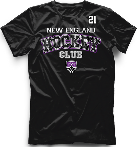 New England Hockey Club Accelerator T-shirt with Player Number