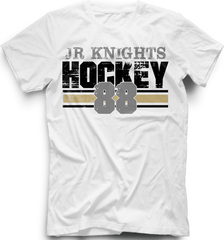 Jr. Knights Boarded T-shirt with Player Number