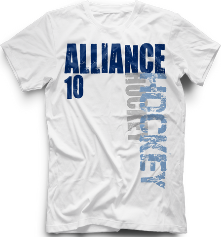 Florida Alliance Hockey T-shirt with Player Number
