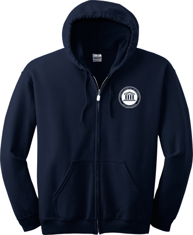 The Classical Academy Embroidered Logo Full Zip Hoodie