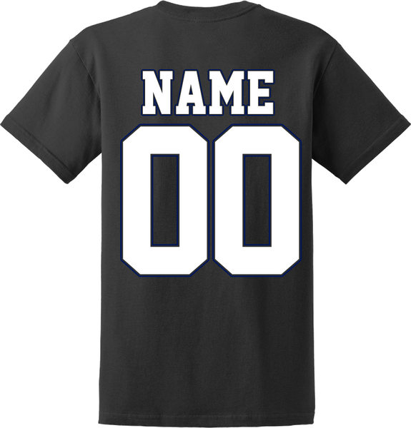 Jr. Bolts Hockey T-shirt with Player Number