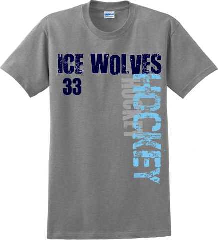 Newsome Hockey Number T-shirt with Player Number
