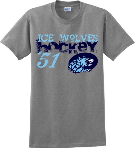 Newsome Distressed T-shirt with Player Number
