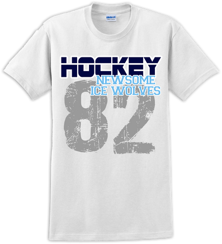 Newsome Rinkside T-shirt with Player Number