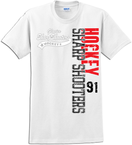 Sharp Shooters Faded Logo T-shirt with Player Number