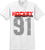 Sharp Shooters Rinkside T-shirt with Player Number