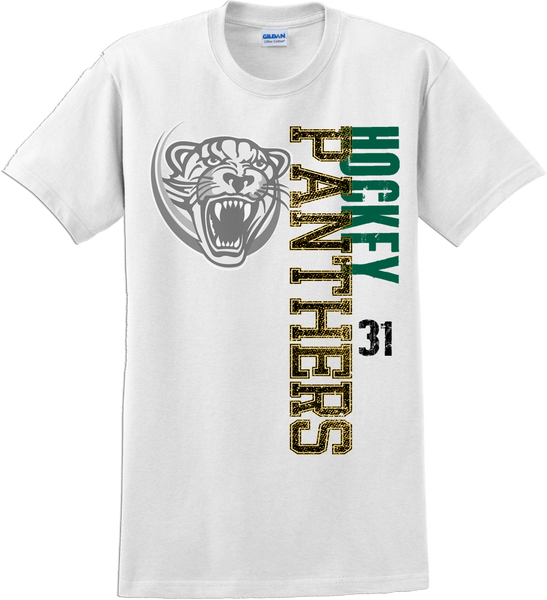 Palm Beach Panthers Faded Logo T-shirt with Player Number