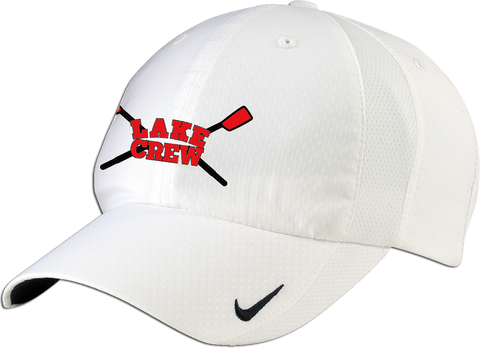 Lake Crew Embroidered Nike Dry-Zone Cap