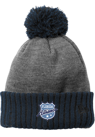 Alliance Hockey New Era Colorblock Cuffed Beanie
