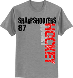 Sharp Shooters Hockey T-shirt with Player Number