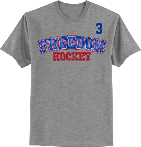 Freedom Hockey Accelerator T-shirt with Player Number