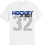 Jr. Bolts Rinkside T-shirt with Player Number