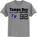 Tampa Bay Bay Juniors Old Time T-shirt with Player Number