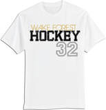 Wake Forest Large Number T-shirt with Player Number