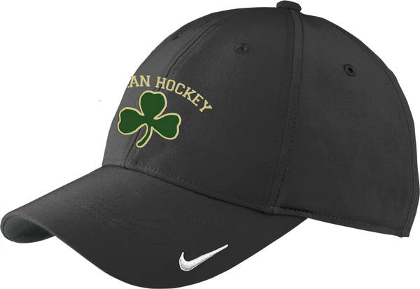 Bishop Feehan Hockey Moisture Wicking Nike Cap w/ Player Number