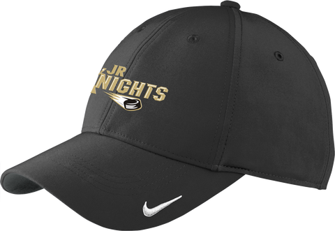 Jr. Knights Hockey Moisture Wicking Nike Cap w/ Player Number