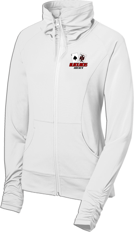 Blackjacks Hockey Ladies Sport-Wick Stretch Full-Zip Jacket