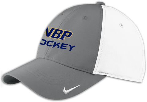 North Broward Prep Hockey Moisture Wicking Nike Cap w/ Player Number