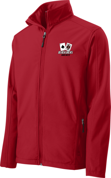 Blackjacks Hockey Core Soft Shell Jacket
