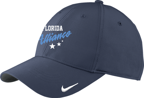 Alliance Hockey Moisture Wicking Nike Cap w/ Player Number