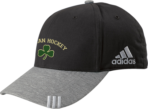 Bishop Feehan Hockey Adidas Cap w/ Player Number