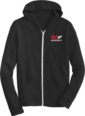 Flames Hockey Lightweight Eco-Jersey Zip Hoodie