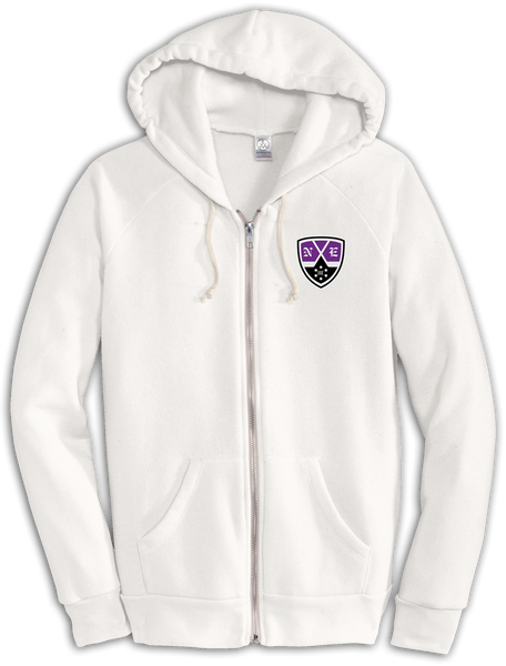 New England Hockey Club Eco-Fleece Zip Hoodie