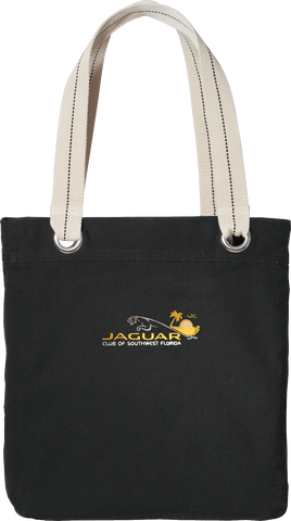 Jaguar Club of Southwest Florida Canvas Bag
