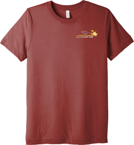 Jaguar Club of Southwest Florida Embroidered Triblend T-Shirt