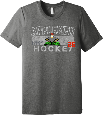 Applemen Hockey Triblend T-shirt