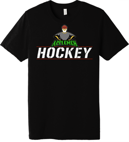 Applemen Hockey Stripes Triblend T-Shirt