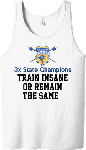 Treasure Coast Rowing Club 3x State Champs Tank