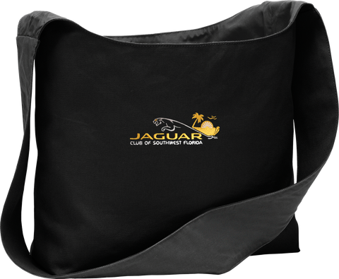 Jaguar Club of Southwest Florida Cotton Canvas Sling Bag