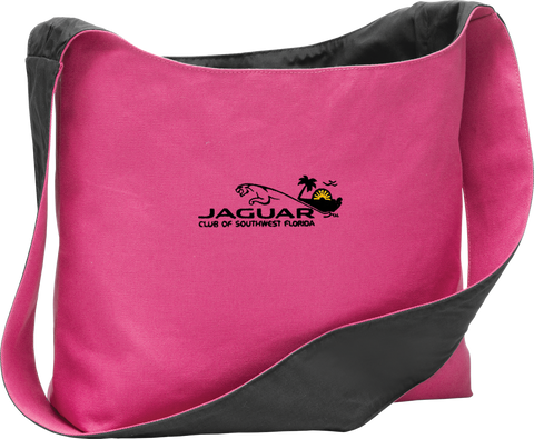 Jaguar Club of SWF Cotton Canvas Sling Bag
