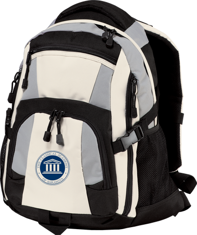 The Classical Academy Embroidered Backpack