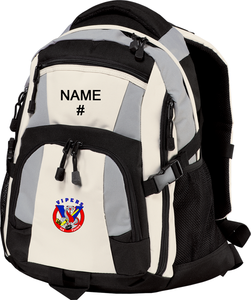 Vipers Backpack w/ Player Name/#