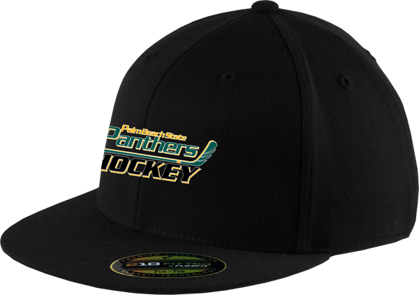 Palm Beach Panthers Flex Fit Flat Brim Cap