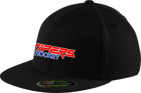 Vipers Flex Fit Flat Brim Cap