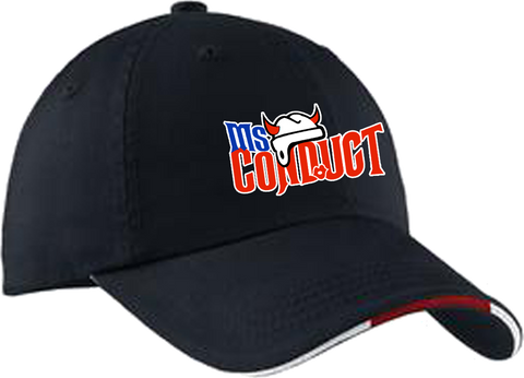 Ms. Conduct Hockey Sandwich Cap