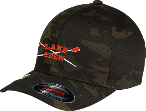 Lake Crew FlexFit Multicam Cap