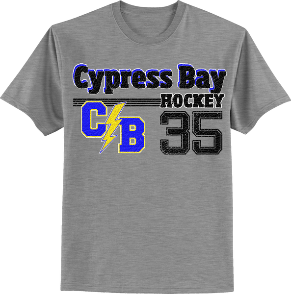 Cypress Bay Old Time T-shirt with Player Number