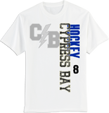 Cypress Bay Faded Logo T-shirt with Player Number