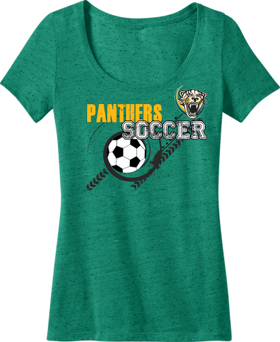 Palm Beach Panthers Ladies Textured Scoop Tee