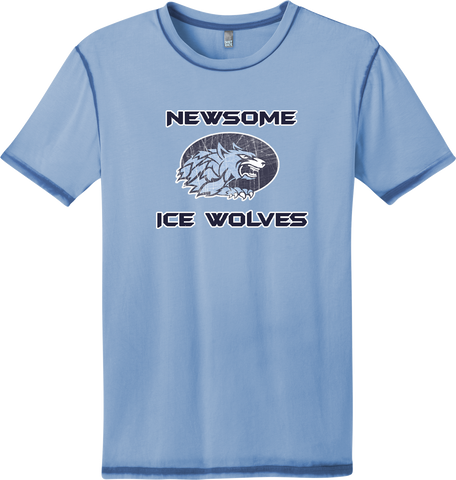 Newsome Distressed Faded T-shirt