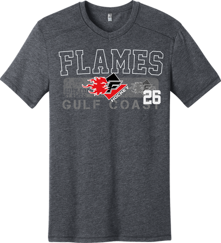 Gulf Coast Flames Triblend T-shirt