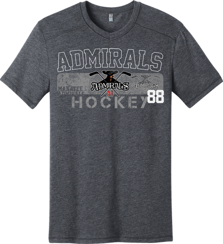 Admirals Hockey Triblend T-shirt