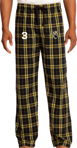 Palm Beach Panthers Flannel Plaid Pant