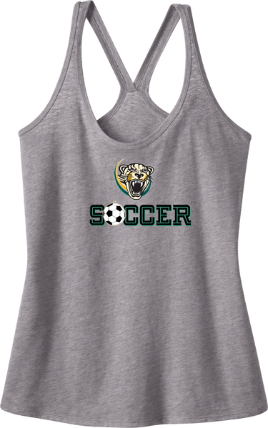 Palm Beach Panthers Soccer Juniors Tri-Blend T-Back Tank