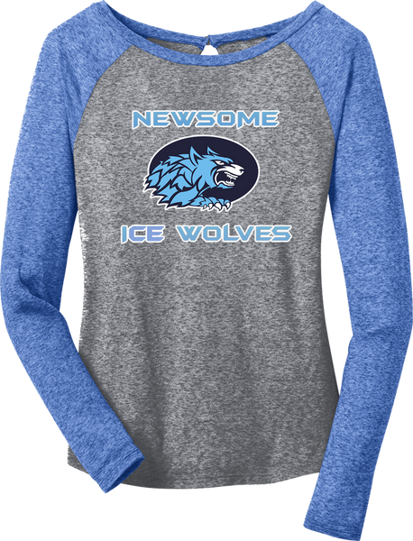Newsome Microburn Long Sleeve Raglan Tee